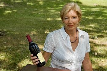 Helga Janz-Wagner importiert Wein aus Rheinhessen © Cornelia Schaible
