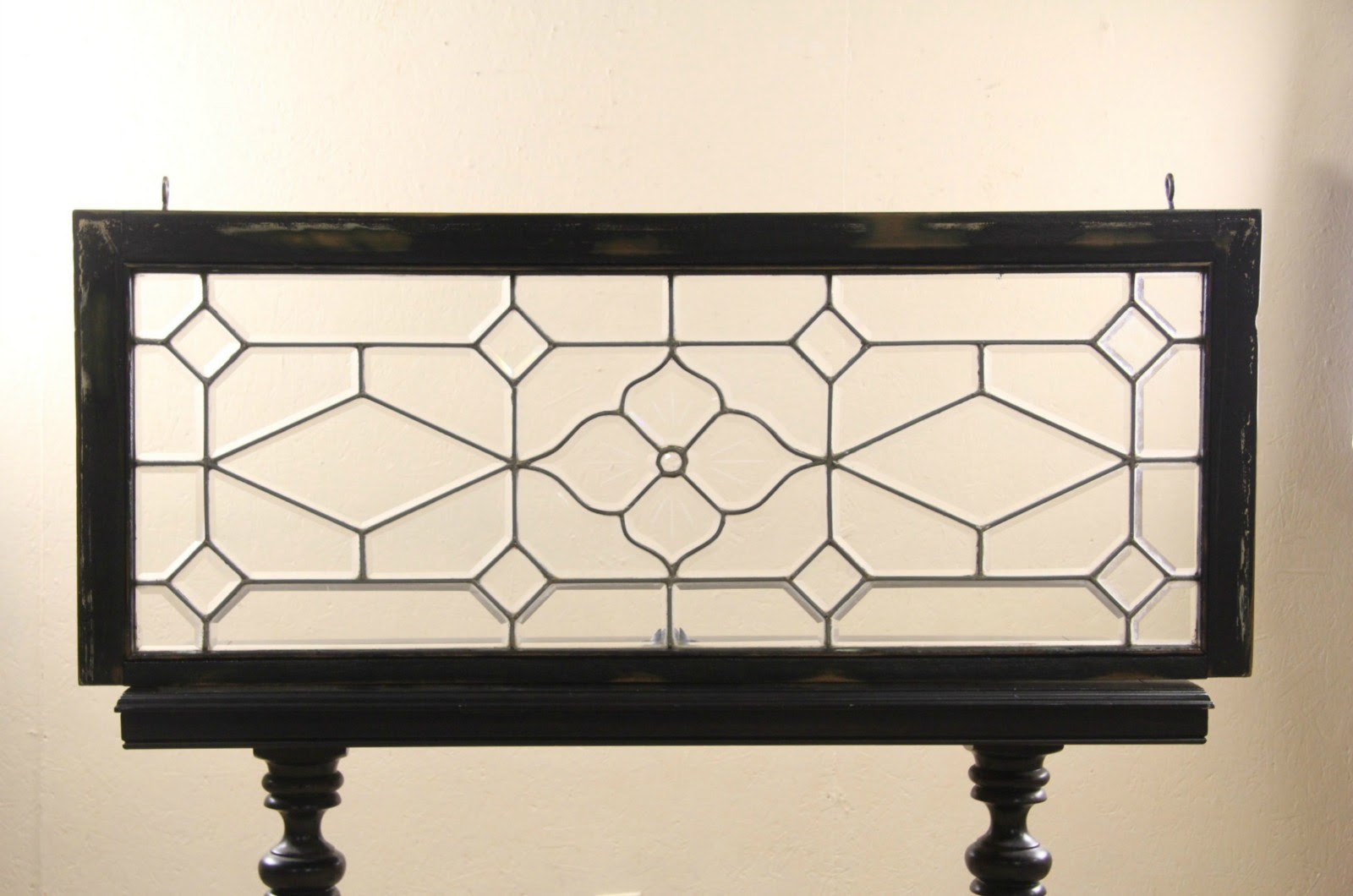 Sold Leaded Beveled Glass 1890s Antique Architectural Salvage