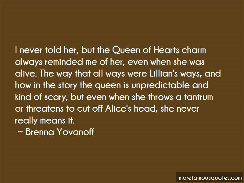 Quotes About Queen Of Hearts Top 21 Queen Of Hearts Quotes From