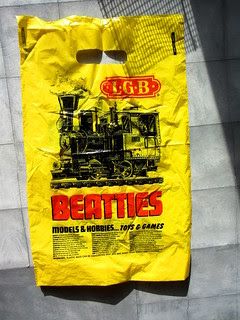 Plastic Carrier Bags From Beatties Toy Store Glasgow Scotland 1990s - 2 Of 22