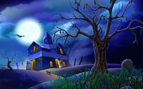 halloween desktop backgrounds wallpaper cave