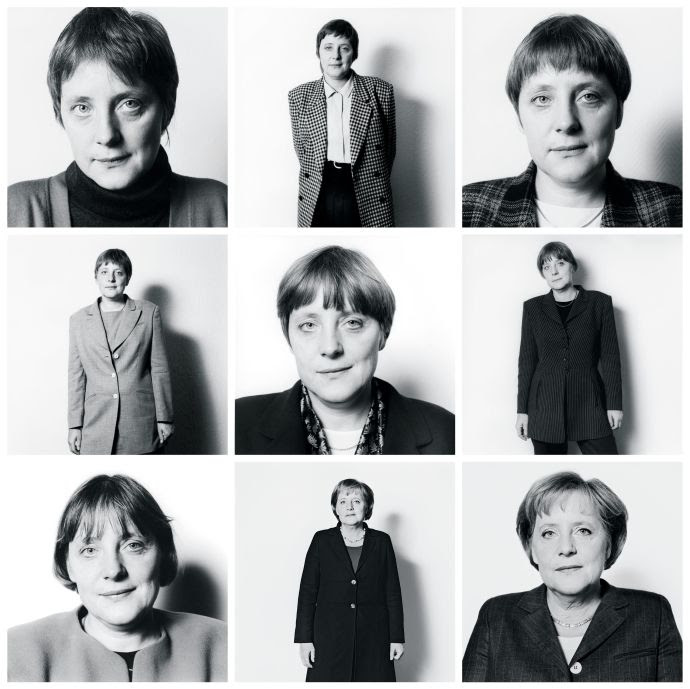 Herlinde Koelbl has been photographing Merkel since 1991