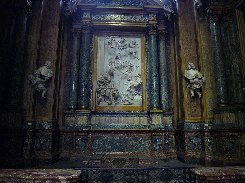File:S Eustachio - s Andrea della valle cappella Ginnetti 1030635.JPG