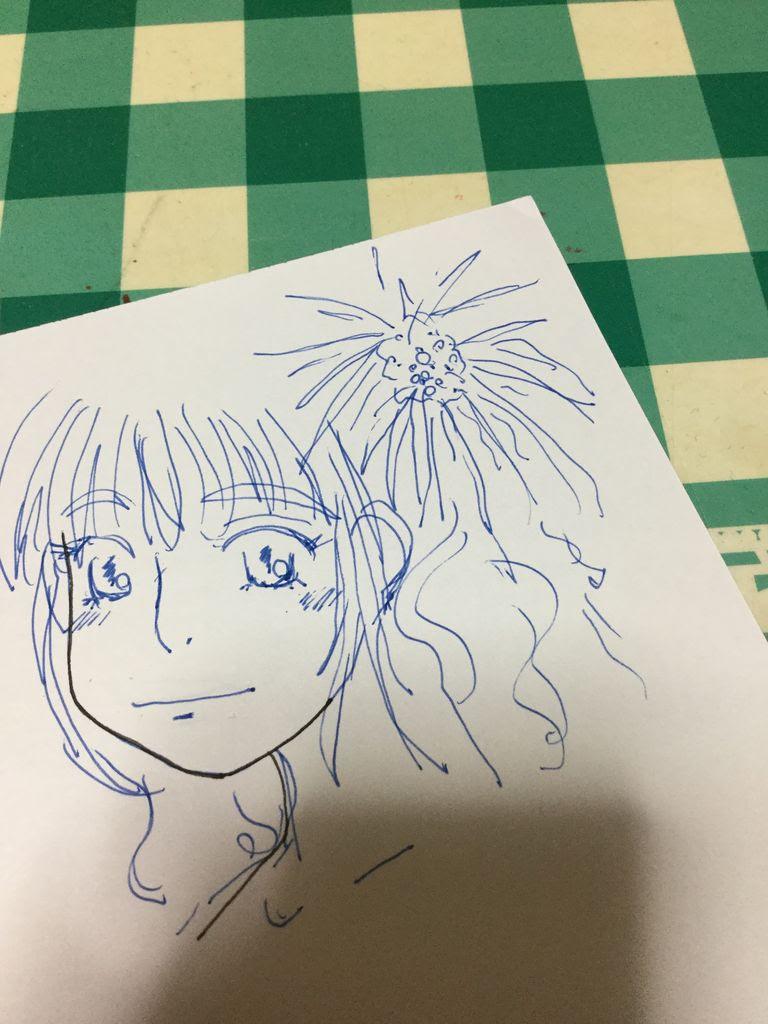 ボールペンでイラストの下絵を描く 日日文房具 ワークライフに役立つ