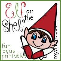 elf on the shelf printable  royal baloo