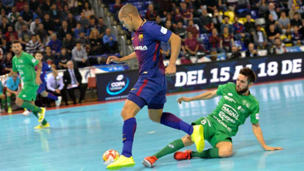 FC Barcelona empata con Osasuna Magna y queda a 3 puntos de Inter que ganó a ElPozo