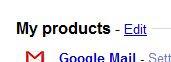 Edit Google Products