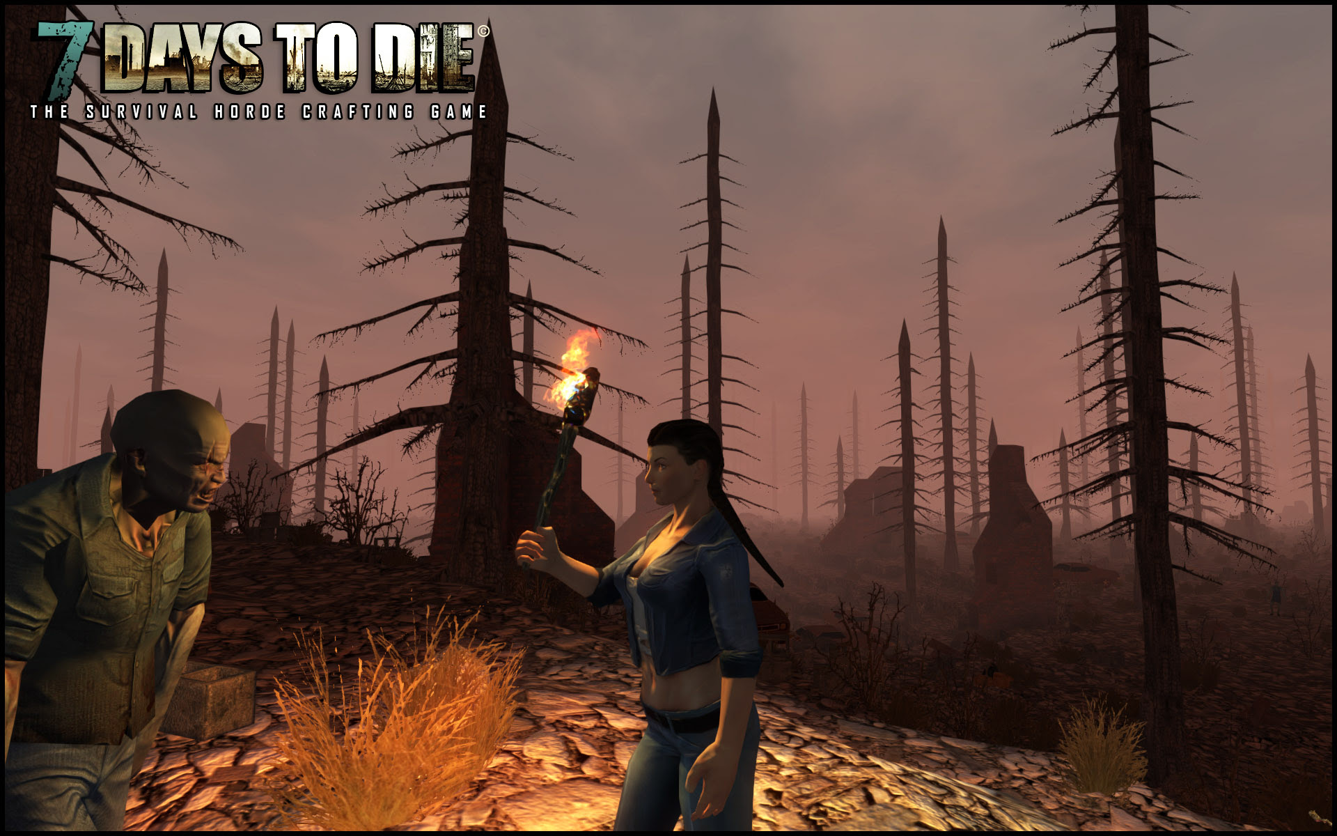 7 Days To Die Zombie Survival Game By The Fun Pimps