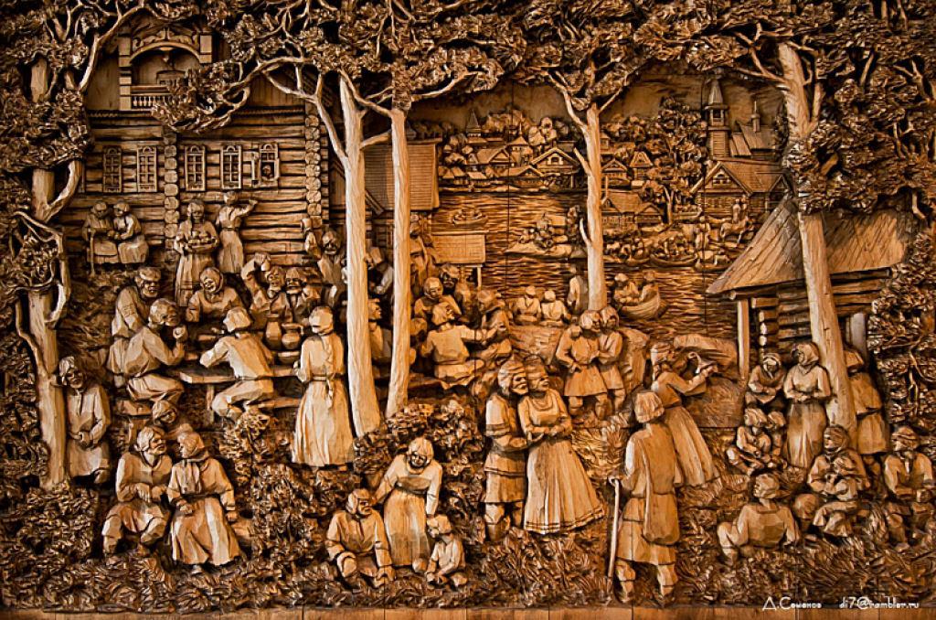As incríveis pinturas esculpidas de Kronid Gogolev 23
