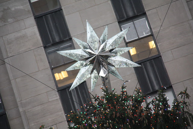 Rockefeller center Star tree - NYC dic 2011