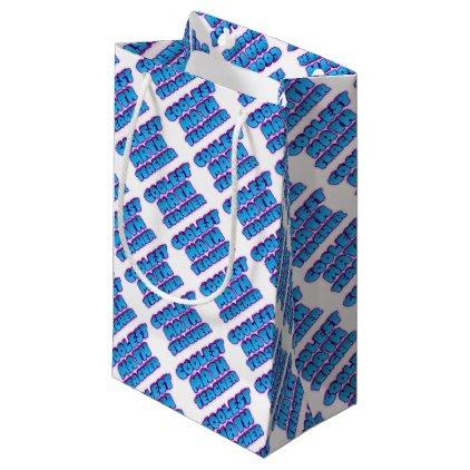 coolest math teacher small gift bag