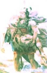 Cuchulainn with his fallen friend