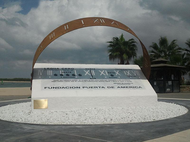 File:Monumento Legua Cero Primera circunnavegacion mundial-Sanlucar de Barrameda.jpg