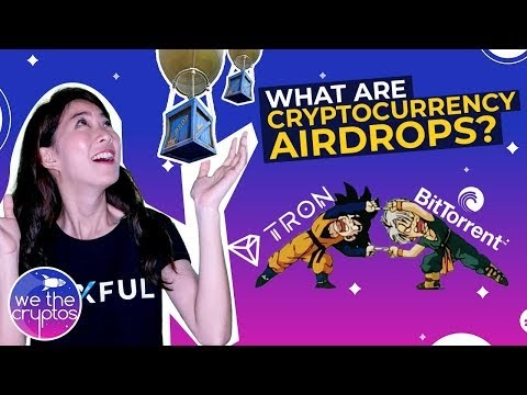 What is an airdrop in cryptocurrency