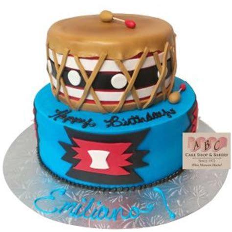 (2295) 2 Tier Native American Cake   ABC Cake Shop & Bakery