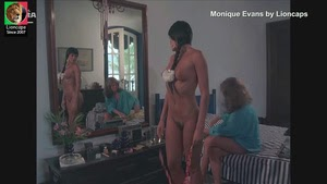 Monique Evans nua no filme brasileiro de 1987 Eu