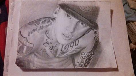 drawing  mgk lnv drawing art rapper mgk
