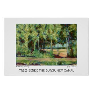 Burgundy Canal Print or Poster print