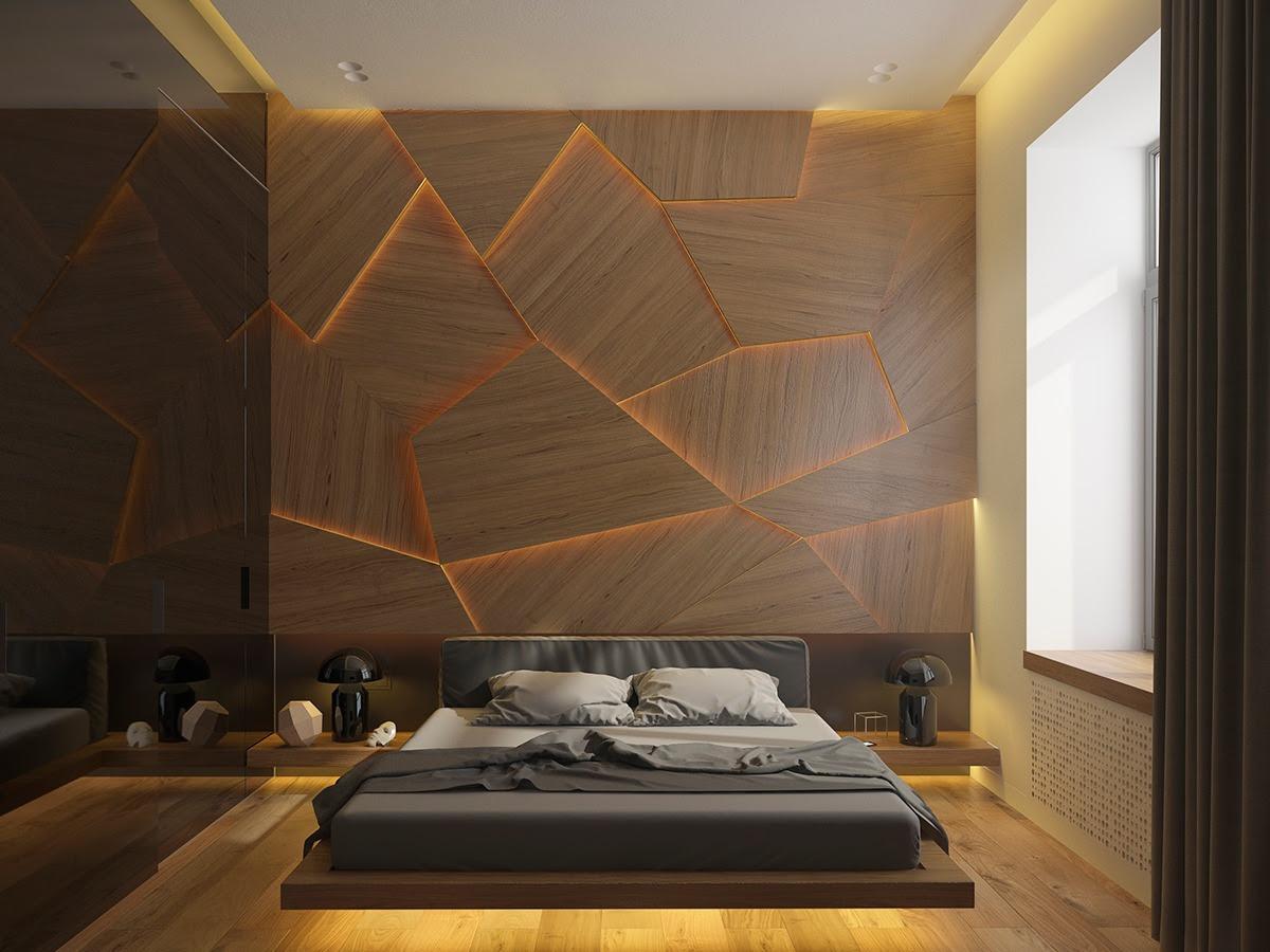 bedroom wall design