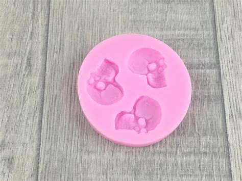 Skull Silicone Mold   Little Cookies NZ