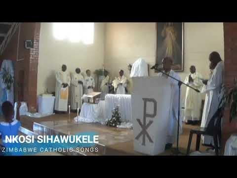 Zimbabwe Catholic Ndebele Songs - Nkosi Sihawukele
