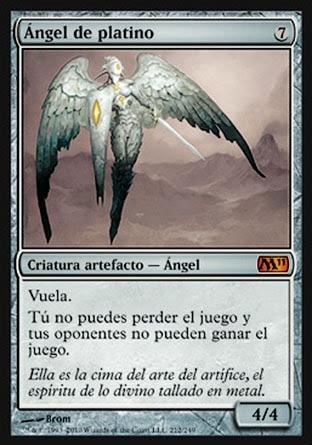 Ángel de platino