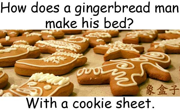 gingerbread man  cookie sheet