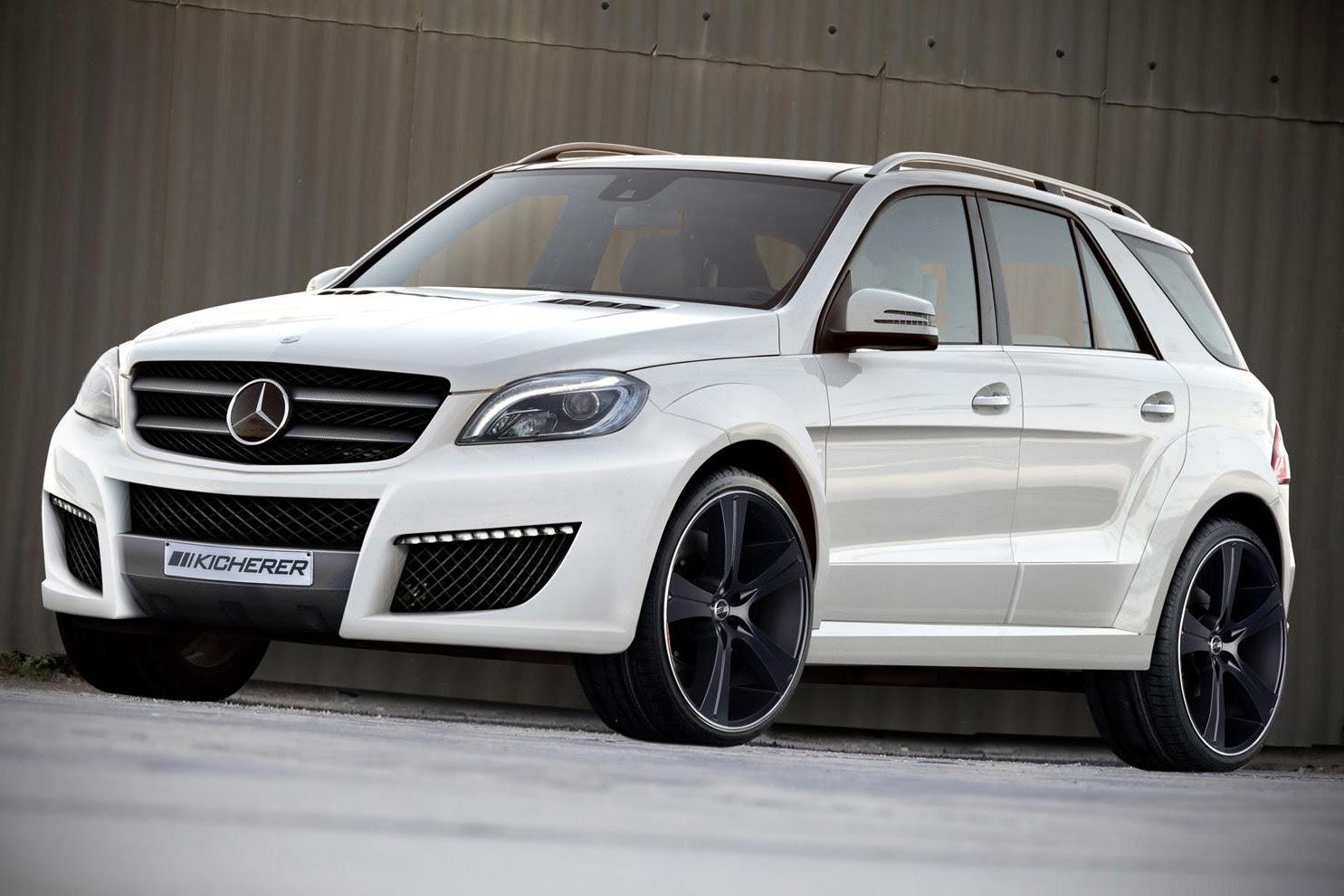 Kicherer Gives 2012 Mercedes Benz M-Class a New Look ...