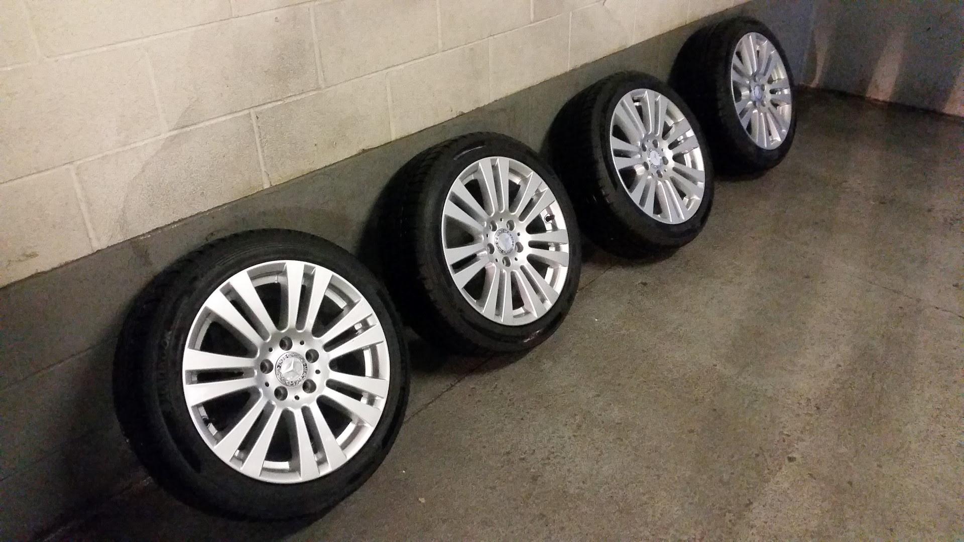 Oem Alloy Wheels Tires Winter  750 00 Toronto Gta Mbworld Org Forums