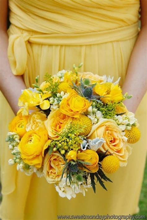 Picture Of Spring Yellow Wedding Ideas