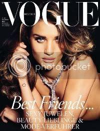 Rosie Huntington-Whiteley for Vogue Germany November 2011