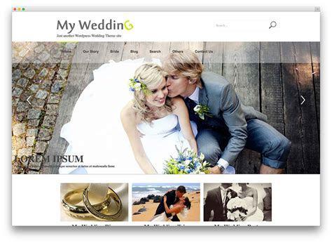 20  Beautiful and Free WordPress Wedding Themes 2017