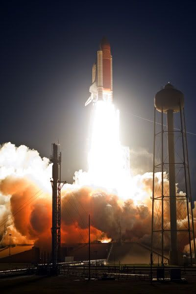 Space shuttle DISCOVERY is launched from Kennedy Space Center in Florida on March 15, 2009.