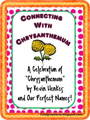 Excellent Chrysanthemum unit! Crumpled heart activity, craftivity, and ...
