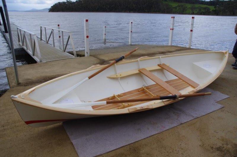 Thread: Paul Gartside's fixed seat 16' Open Water Rowing Boat