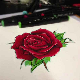 semi realistic rose tattoo design jakeshunt deviantart