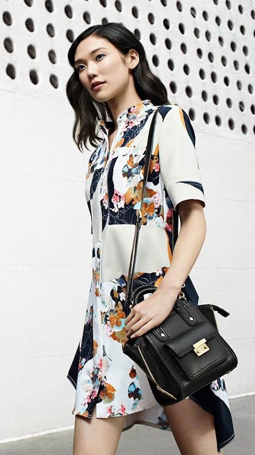 LE FASHION BLOG 31 PHILLIP LIM FOR TARGET COLLECTION AD CAMPAIGN SHOP FLORAL DRESS SATCHEL BAG photo LEFASHIONBLOG31PHILLIPLIMFORTARGETCOLLECTIONADCAMPAIGNSHOPFLORALDRESSSATCHELBAG.jpeg