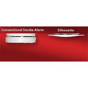 Kidde KN-SMFM-i Silhouette Hardwire Low Profile Smoke Alarm