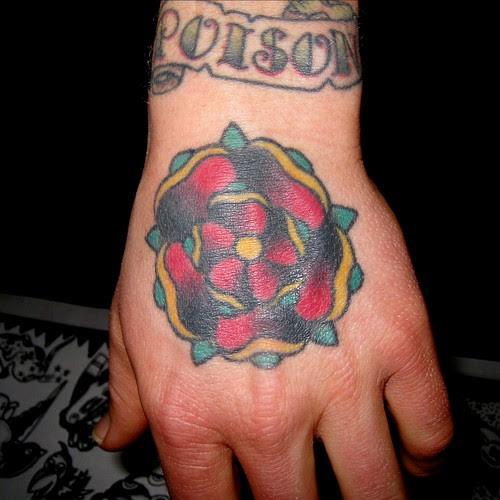 Hand Tattoo by Tilt @ Star of Texas Tattoo Art Revival 2009