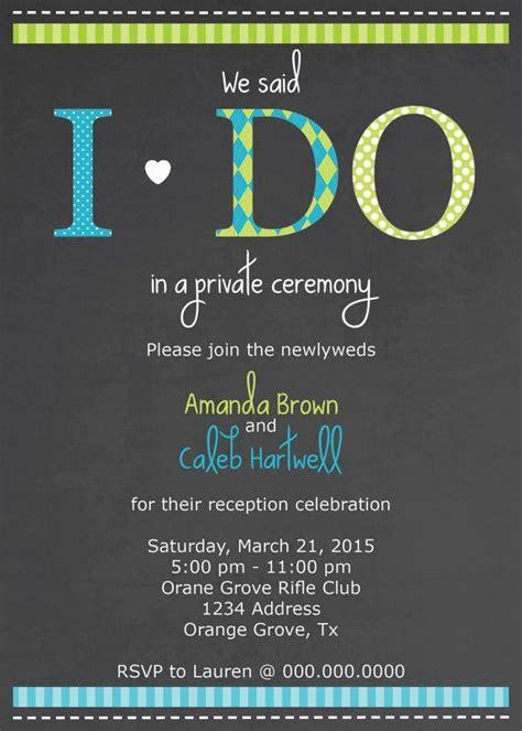 Best 25  Wedding reception invitations ideas on Pinterest