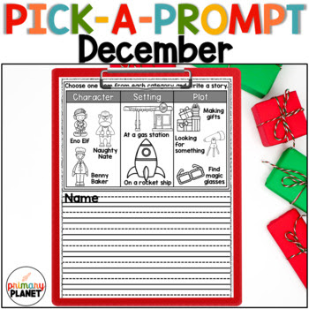 December Pick-A-Prompt! Fun writing prompts!