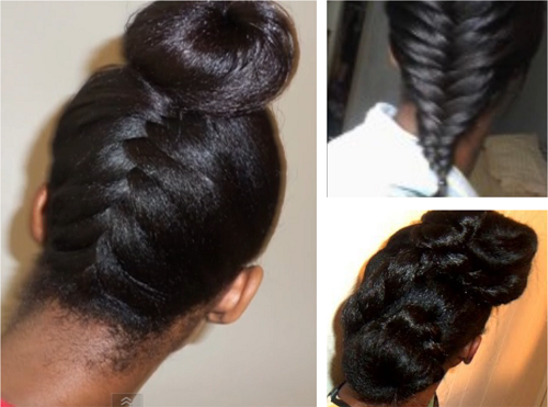 Hairstyle Ideas For Long Relaxed Hair Or Flat Ironed ...