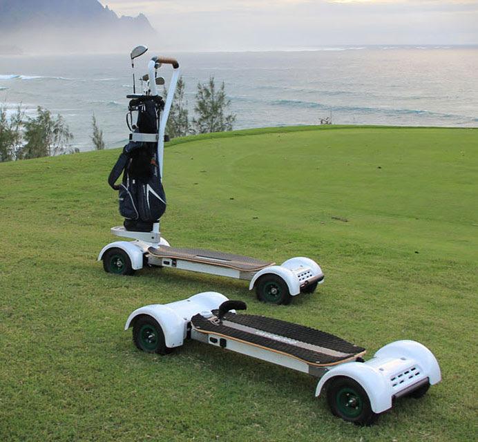 The Golfboard is When Elecric Skateboard Meets Golf Cart  TechEBlog