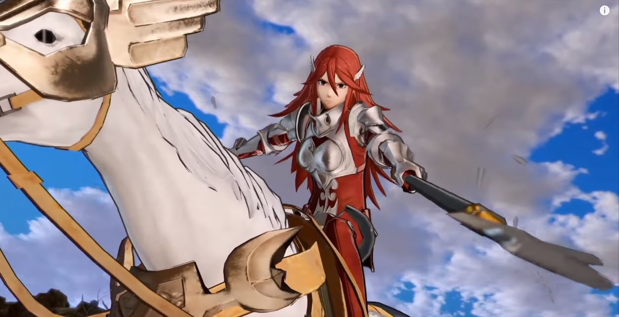 Pegasus Knight Cordelia is the best thing Fire Emblem Warriors has shown us to date screenshot