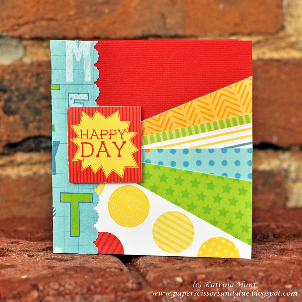 Happy Cards for My Creative Scrapbook!