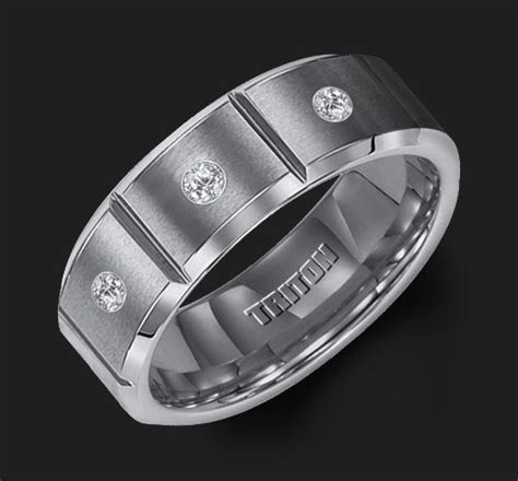 triton mens wedding ring band 2258C   Jewel Box Morgan Hill