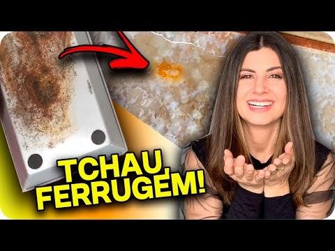 TIRA FERRUGEM CASEIRO!