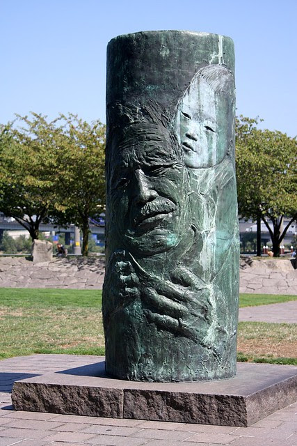 faces (japanese american historical plaza)