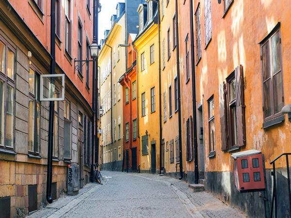 Gamla Stan, en Suède
