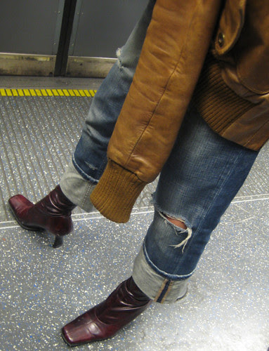 Tattered Jeans and Rocking Boots